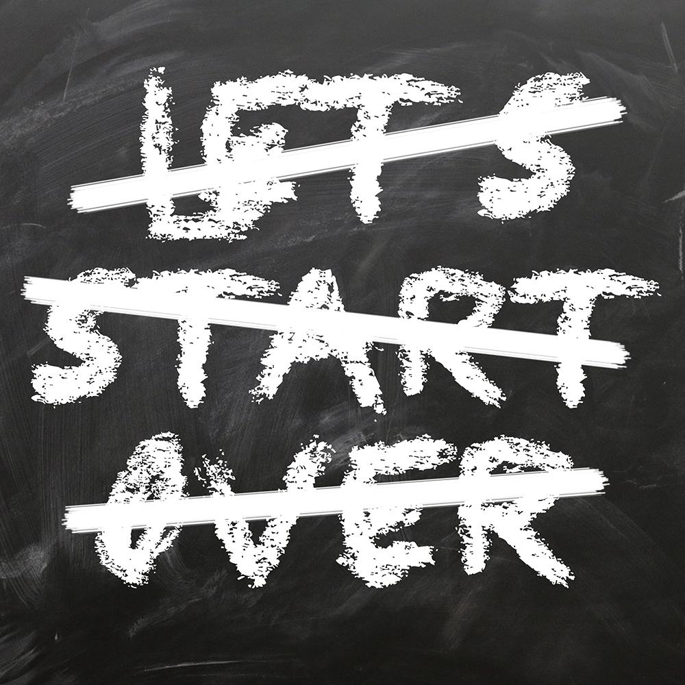 Let's Start Over